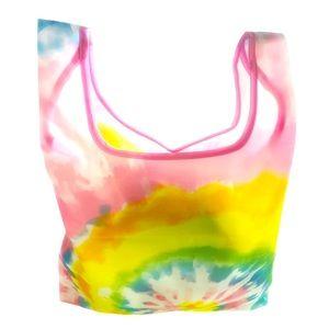 NWOT MACY'S Beauty tie dye travel tote shopper